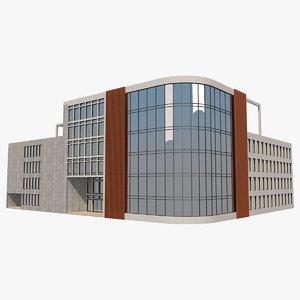 3D model office building 1