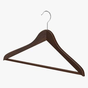realistic clothes hanger model