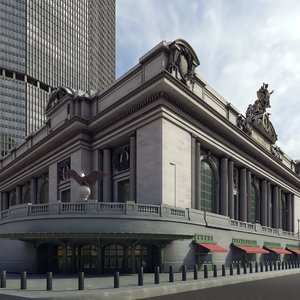 grand central terminal 3D
