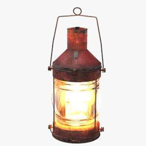 3D lantern light model