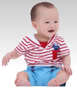 3D model baby boy