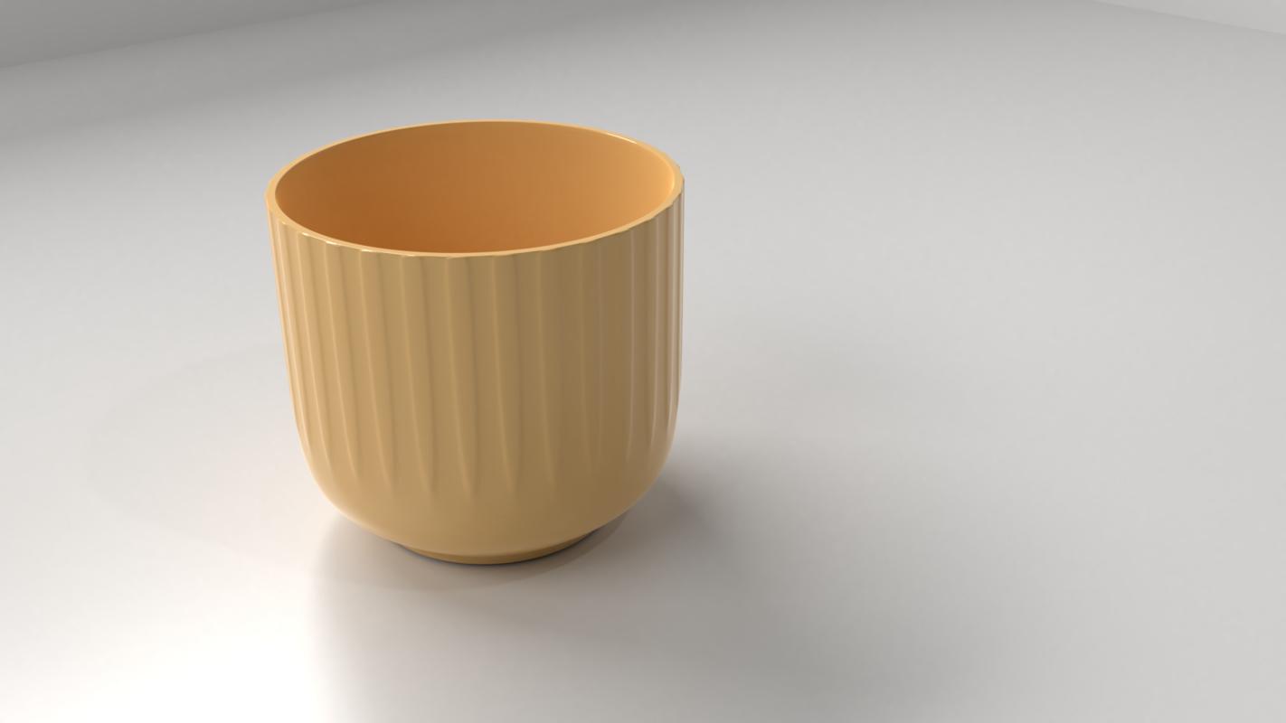 3D vase 5 model