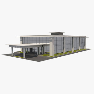 office building 2 3D model