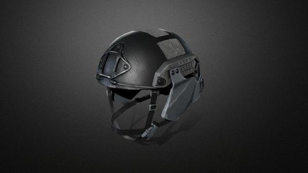 tactical helmet model