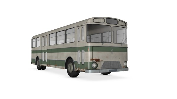 old bus berliet model