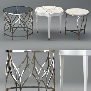 calista accent table 3D