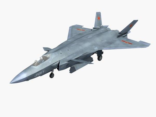 chinese modern 3D model