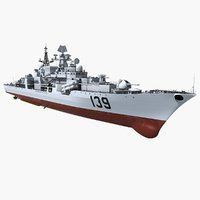 3D model chinese navy modern class