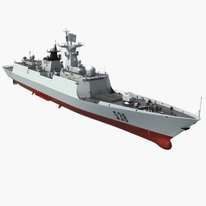 chinese navy type 054a 3D model