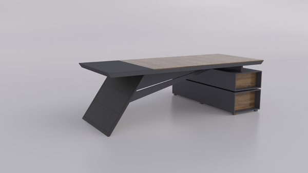 office molo table 3D model