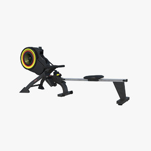 rowing machine 3D