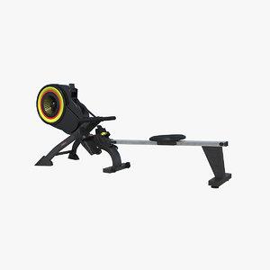 rowing machine 3D