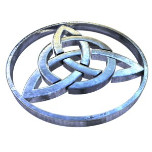 celtic symbol 3D model