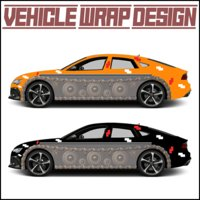 Vehicle Wrap Design
