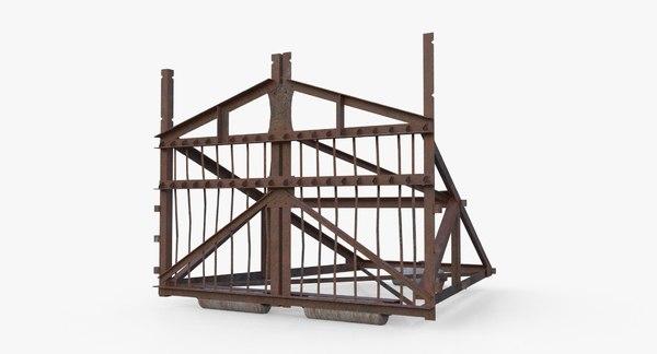 3D belgian gate