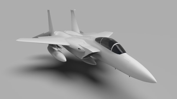 tactical fighter aircraft eagle 3D
