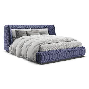 3D moroso redondo bed model