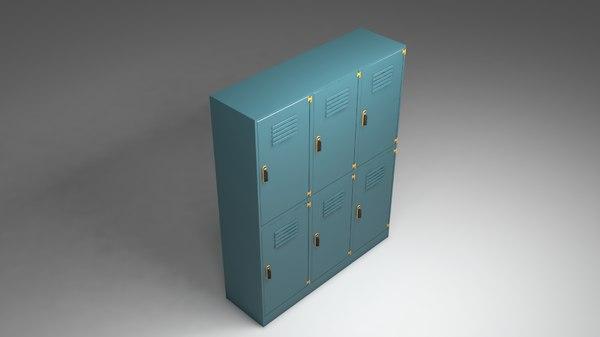 3D clothes cabinet metal