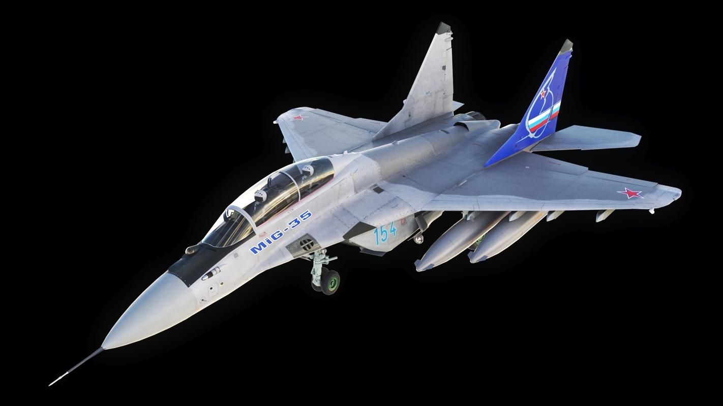mig-35 fighter jet 3D