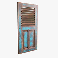 old window antique 3D model