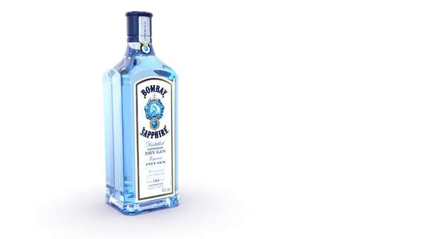 bombay sapphire gin 3D model