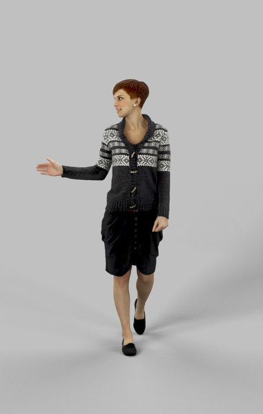 character people casual 3D model