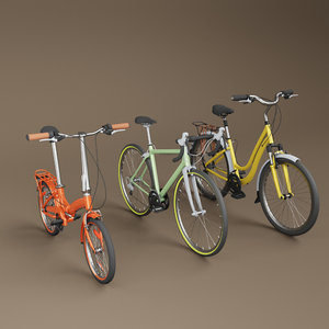 3D generic bicycles cycles
