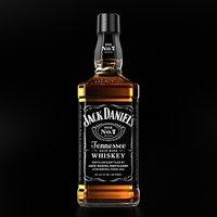 jack daniels whiskey 3D model