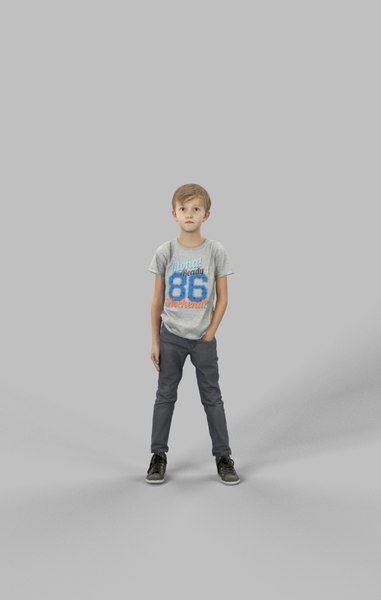 character casual model