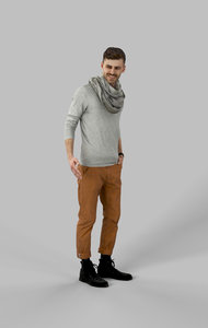 3D model character people casual