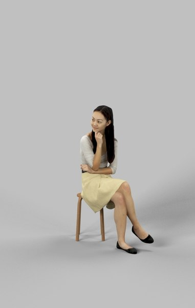 character casual 3D model