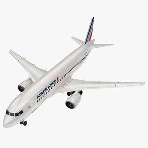 airbus air france a320 3D model