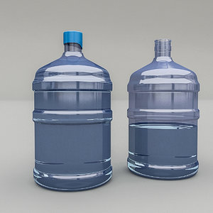 carboy realistic 3D