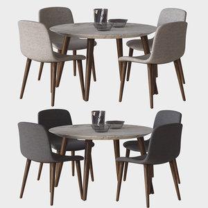 3D chair bacco model