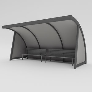replacement bench 3D model