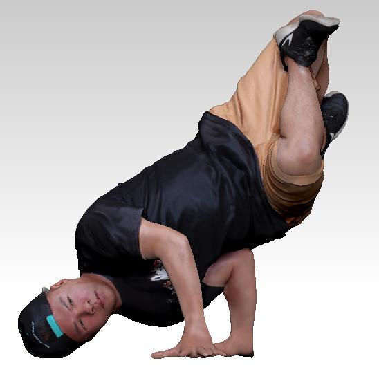 3D dancer dance