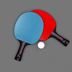 racket realistic model