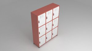 designed metal storage cabinet model