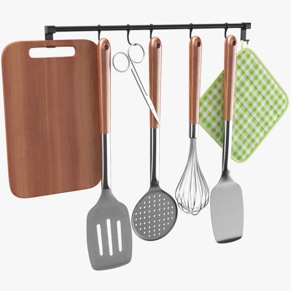 real kitchen utensil 3D model