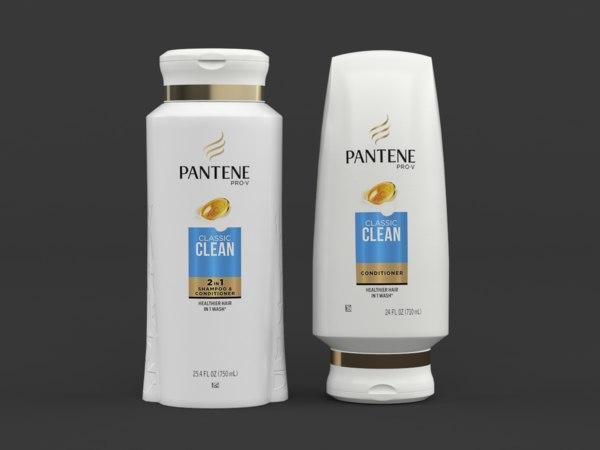 3D pantene pro-v classic clean