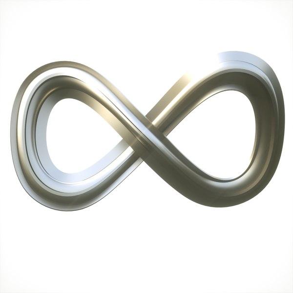 3D infinity loop mobius