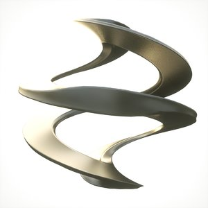 infinity loop abstract 3D model