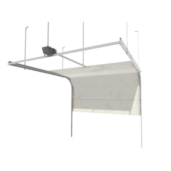 3D model garage door