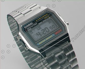 3D model casio classic