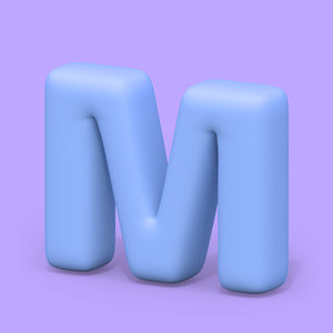 3D ht standard font edges