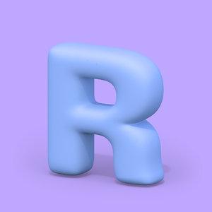 ht standard font edges 3D