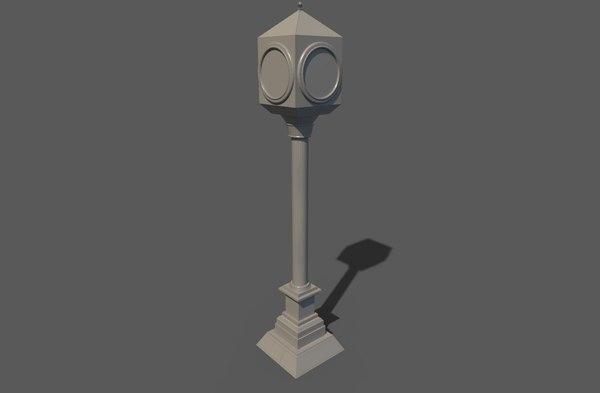 clock decoration 3D model