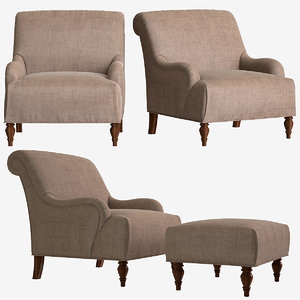 3D broyhill isla chair