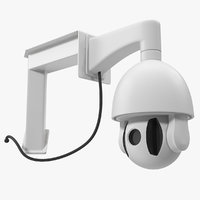 mini wifi security camera 3D model