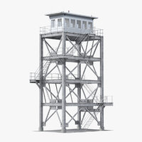 3D observation tower